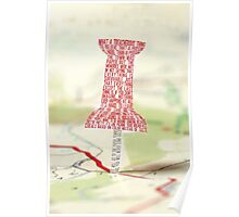Paper Towns Typography Poster