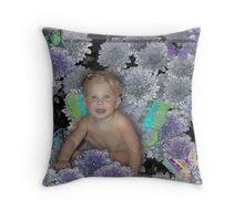 Garden Fairy Throw Pillow