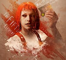 Leeloo Dallas, Multipass! by DigitalTheory