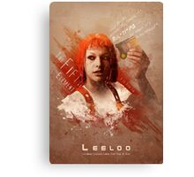 Leeloo Dallas, Multipass! Canvas Print