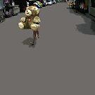 teddy bear by Yuval Fogelson