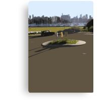 roundabout Canvas Print