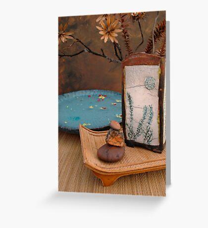 Zen Elements  Greeting Card