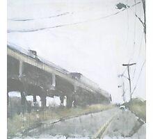 a train Photographic Print