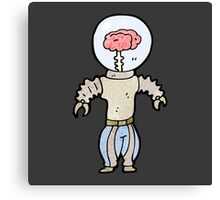 brain robot Canvas Print