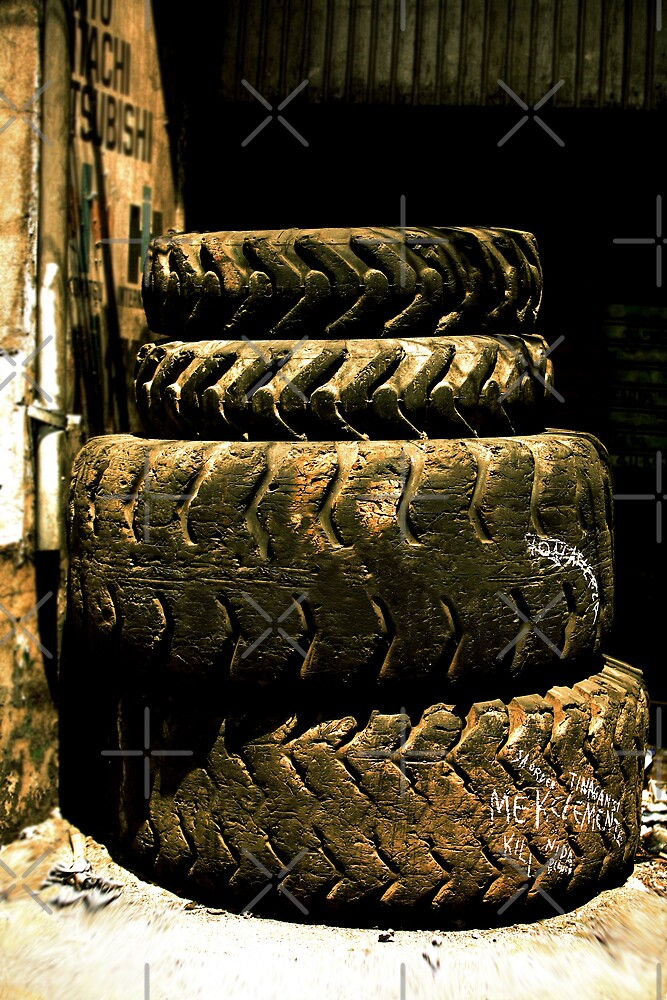 Manila Tires by Ben Pacificar