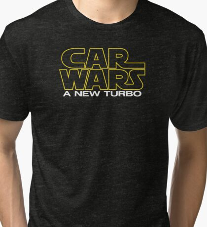 Car Wars IV Tri-blend T-Shirt