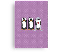 Seal Costume Penguin Canvas Print