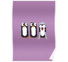 Seal Costume Penguin Poster