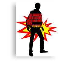 Rory Williams EPIC Canvas Print