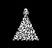 Skulls Christmas Tree by cafelab