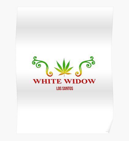 GTA V - White Widow Poster