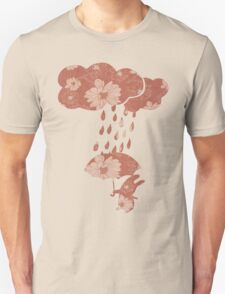 Song of the Rain (Floral pattern) Unisex T-Shirt