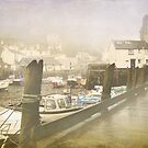 Polperro in the mist 2 by Lissywitch