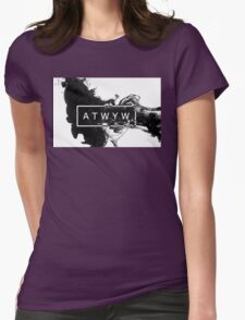 ATWYW - Smoke Womens Fitted T-Shirt