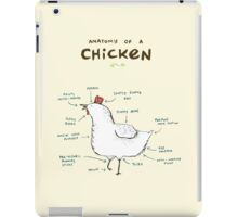 Anatomy of a Chicken iPad Case/Skin