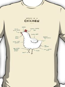 Anatomy of a Chicken T-Shirt