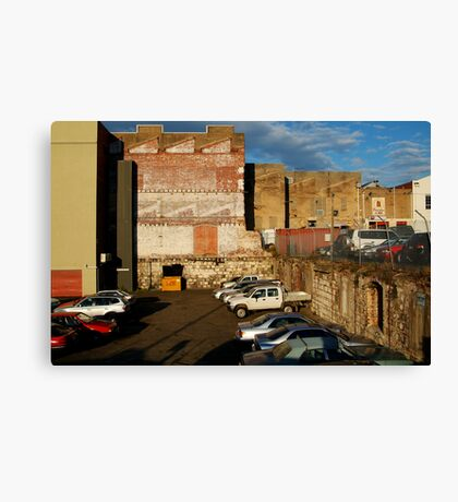 Back Alley Parking Canvas Print