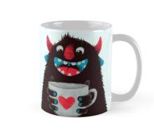 Demon with cup Mug