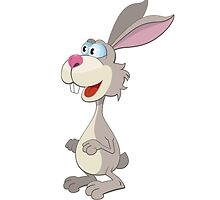Funny rabbit cartoon bunny by berlinrob