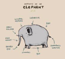 Anatomy of an Elephant T-Shirt