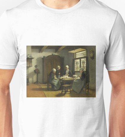 David Adolph Constant Artz - In The Orphanage At Katwijk-Binnen Unisex T-Shirt