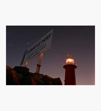North Mole Lighthouse - Fremantle Western Australia  Photographic Print