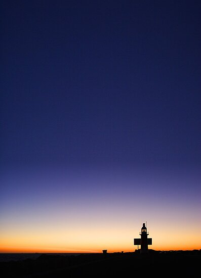North Mole Lighthouse At Dusk  by EOS20