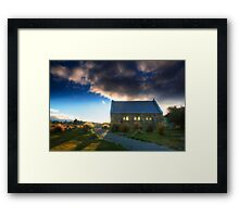 Church of the Good Shepherd - Sunset Framed Print