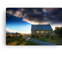 Church of the Good Shepherd - Sunset Canvas Print