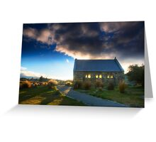 Church of the Good Shepherd - Sunset Greeting Card