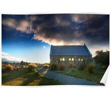Church of the Good Shepherd - Sunset Poster