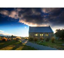 Church of the Good Shepherd - Sunset Photographic Print