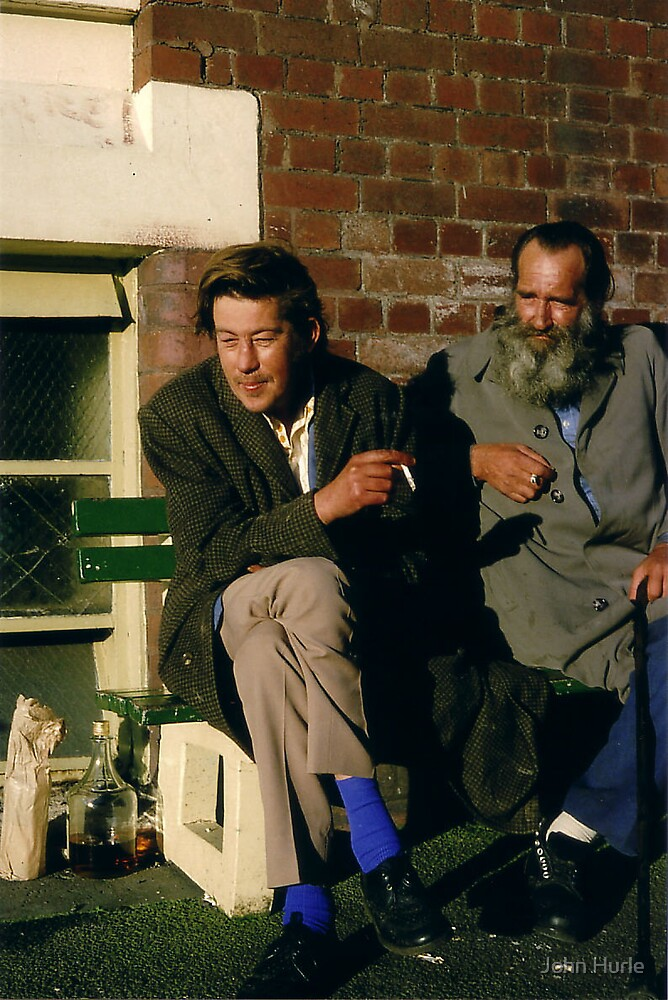 Gordon House residents by John Hurle