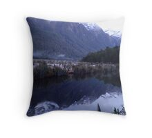 Mirror Lakes Throw Pillow