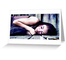 Sleeping  Greeting Card