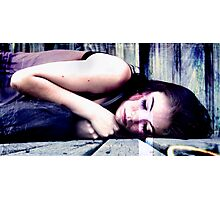 Sleeping  Photographic Print