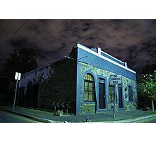 Coglin Corner in blue  Photographic Print