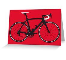 Bike Pop Art (Black & White) Greeting Card
