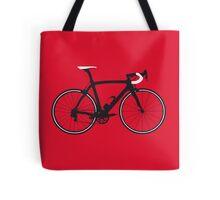 Bike Pop Art (Black & White) Tote Bag