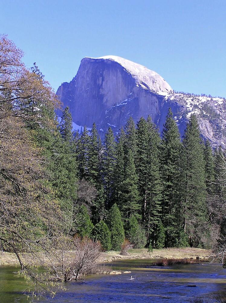 Yosemite Half-Dome by J K Scott