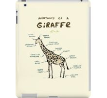 Anatomy of a Giraffe iPad Case/Skin