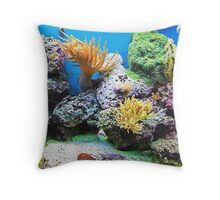 Under The Sea.. Throw Pillow