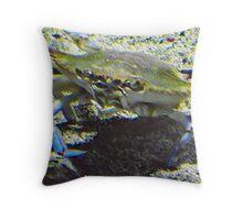 Blue Crab.... Throw Pillow