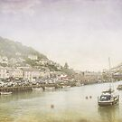 Looe Harbour 2014 by Lissywitch