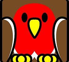 Robin Redbreast by SquareDog