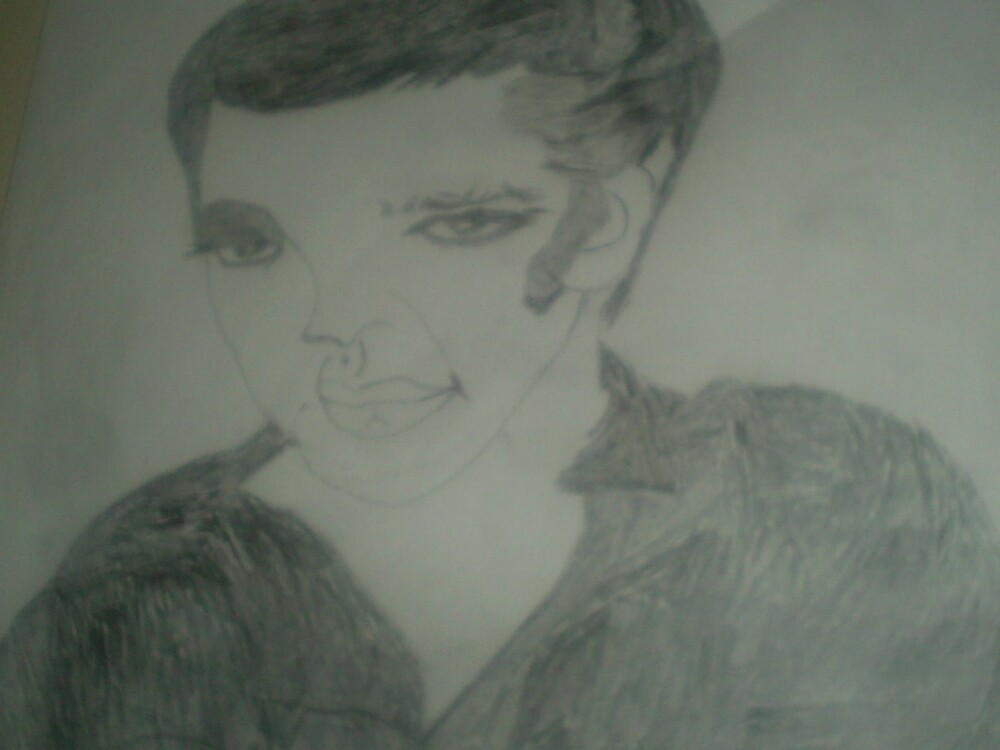 elvis presley drawing by oilersfan11