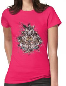 Metal Totum Womens Fitted T-Shirt