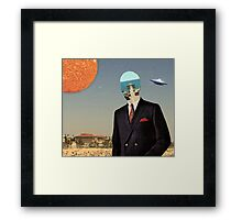 DRESS MAN Framed Print