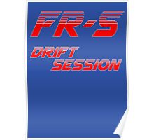 FR-S Drift Session Poster